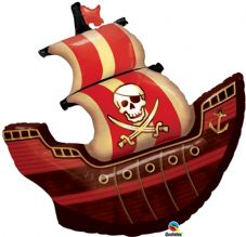 Pirate Ship Super Shape Foil Balloon